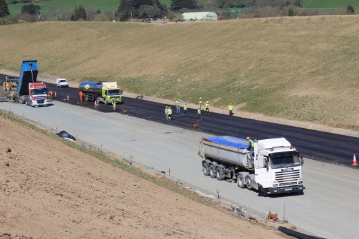 Road Construction of the New N11 Motorway carried out by KOF International