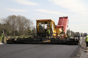 Road Construction by Kellys of Fantane Quarries Ireland